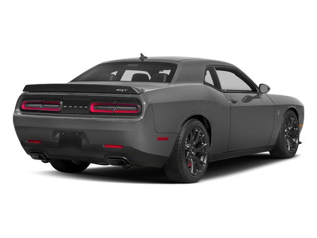 Destroyer Gray Clearcoat 2018 Dodge Challenger Pictures Challenger SRT Hellcat Widebody RWD photos rear view
