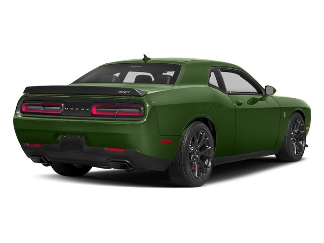 F8 Green 2018 Dodge Challenger Pictures Challenger SRT Hellcat RWD photos rear view