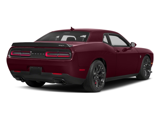 Octane Red Pearlcoat 2018 Dodge Challenger Pictures Challenger SRT Hellcat RWD photos rear view