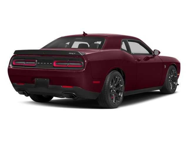 Octane Red Pearlcoat 2018 Dodge Challenger Pictures Challenger SRT Hellcat Widebody RWD photos rear view