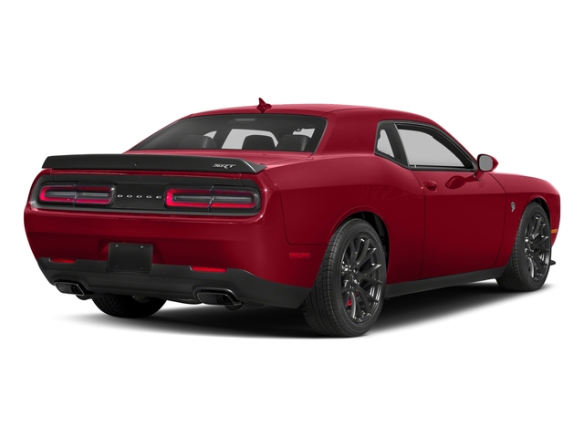 Redline Red Tricoat Pearl 2018 Dodge Challenger Pictures Challenger SRT Hellcat RWD photos rear view