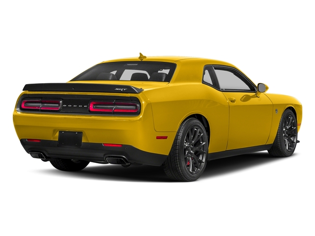 Yellow Jacket Clearcoat 2018 Dodge Challenger Pictures Challenger SRT Hellcat RWD photos rear view