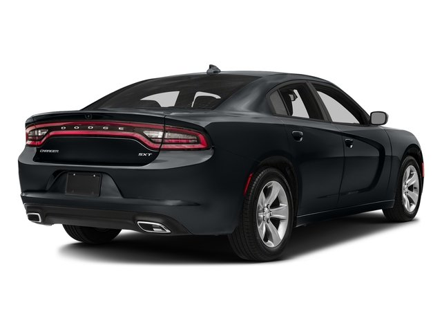 Maximum Steel Metallic Clearcoat 2018 Dodge Charger Pictures Charger SXT Plus RWD photos rear view