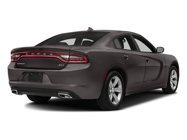 Granite Pearlcoat 2018 Dodge Charger Pictures Charger SXT Plus RWD photos rear view