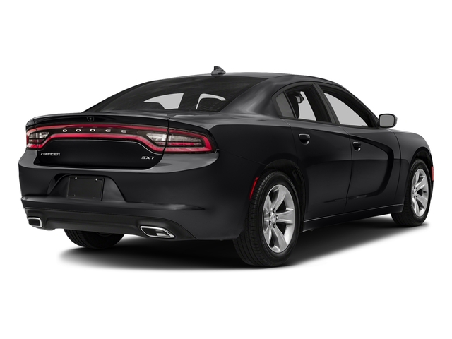 Pitch Black Clearcoat 2018 Dodge Charger Pictures Charger SXT Plus RWD photos rear view