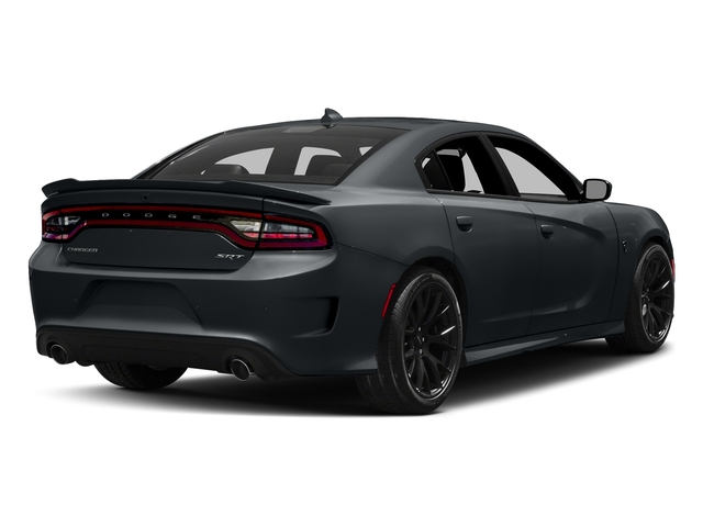 Maximum Steel Metallic Clearcoat 2018 Dodge Charger Pictures Charger SRT Hellcat RWD photos rear view