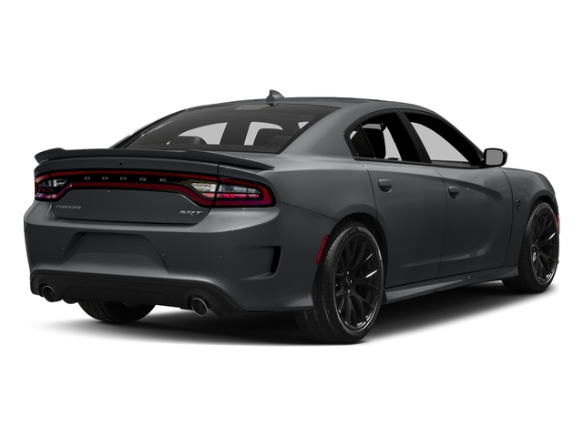 Granite Pearlcoat 2018 Dodge Charger Pictures Charger SRT Hellcat RWD photos rear view