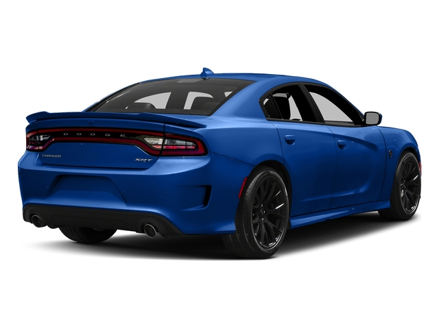 Indigo Blue 2018 Dodge Charger Pictures Charger SRT Hellcat RWD photos rear view