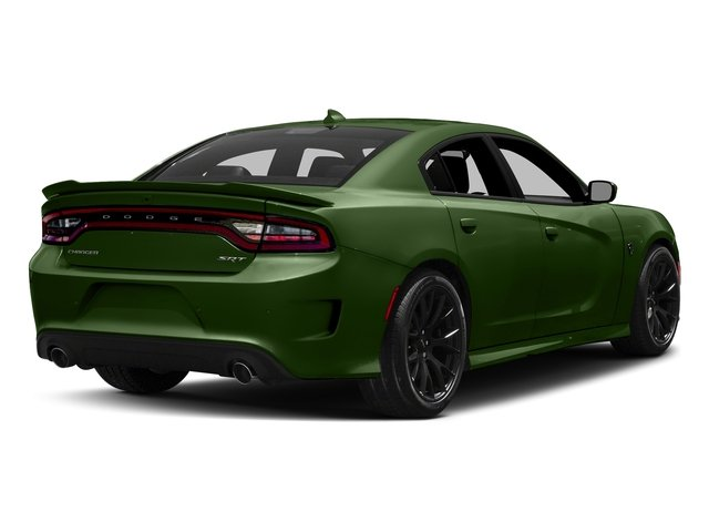 F8 Green 2018 Dodge Charger Pictures Charger SRT Hellcat RWD photos rear view