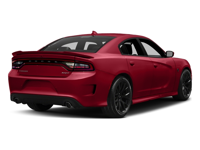 Redline Red Tricoat Pearl 2018 Dodge Charger Pictures Charger SRT Hellcat RWD photos rear view
