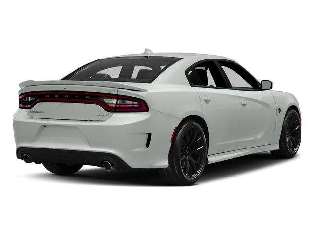 White Knuckle Clearcoat 2018 Dodge Charger Pictures Charger SRT Hellcat RWD photos rear view