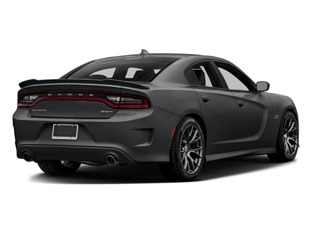 Granite Pearlcoat 2018 Dodge Charger Pictures Charger SRT 392 RWD photos rear view