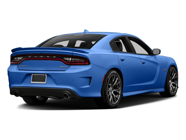 Indigo Blue 2018 Dodge Charger Pictures Charger SRT 392 RWD photos rear view