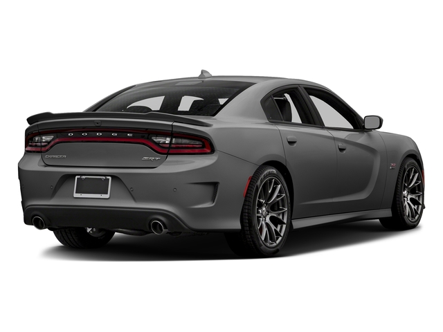 Destroyer Gray Clearcoat 2018 Dodge Charger Pictures Charger SRT 392 RWD photos rear view