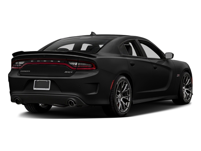 Pitch Black Clearcoat 2018 Dodge Charger Pictures Charger SRT 392 RWD photos rear view