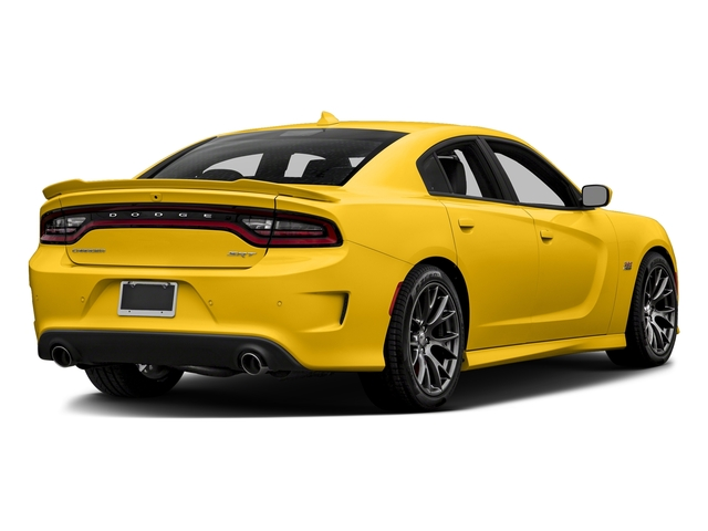 Yellow Jacket Clearcoat 2018 Dodge Charger Pictures Charger SRT 392 RWD photos rear view