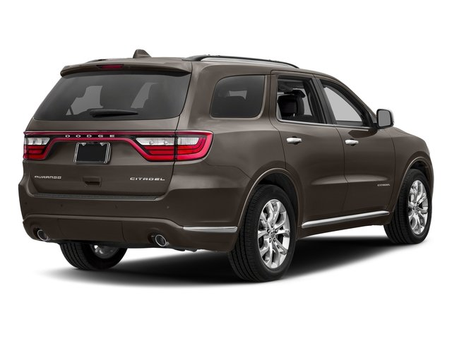 Stout Brown Met. Clearcoat 2018 Dodge Durango Pictures Durango Citadel AWD photos rear view