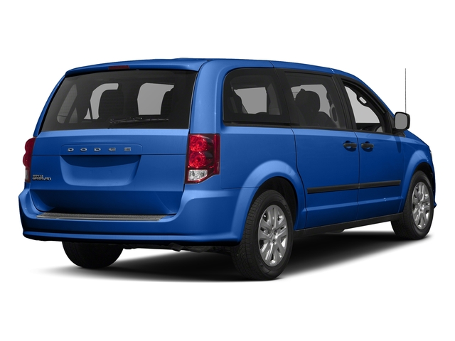 Indigo Blue Clearcoat 2018 Dodge Grand Caravan Pictures Grand Caravan SE Plus Wagon photos rear view