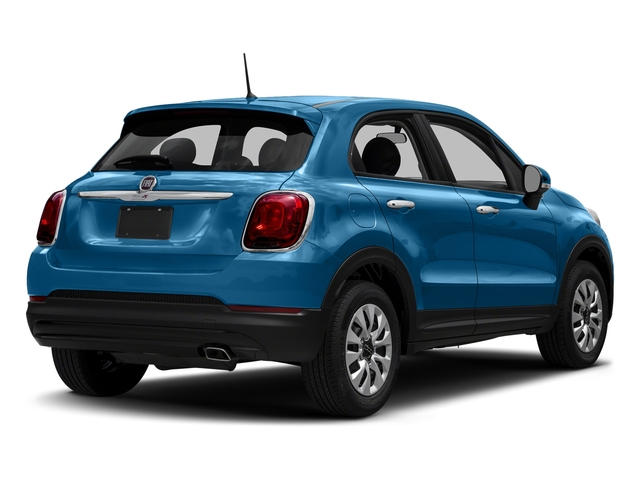 Blue Sky Metallic 2018 FIAT 500X Pictures 500X Lounge FWD photos rear view