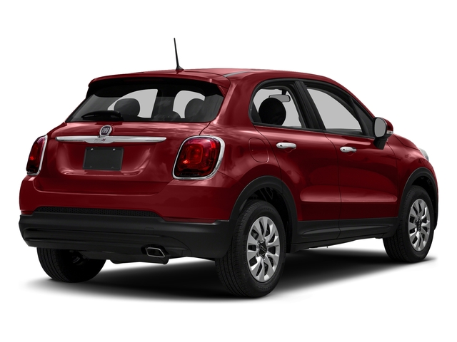 Rosso Passione (Red Hypnotique Clear Coat) 2018 FIAT 500X Pictures 500X Utility 4D Trekking 2WD I4 photos rear view