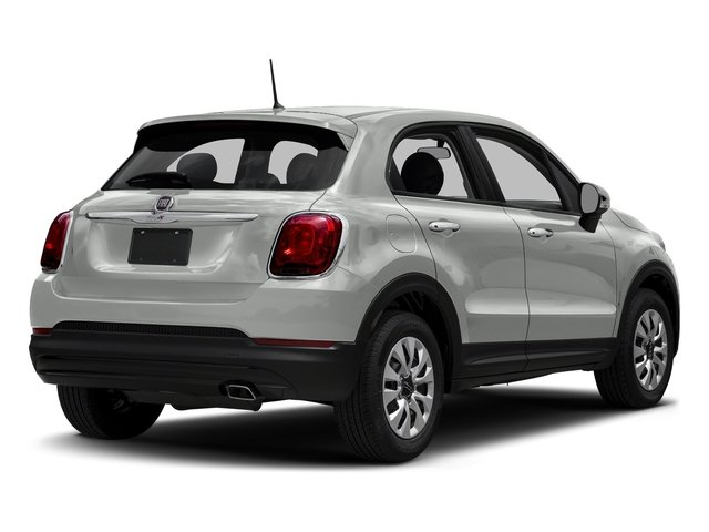 Bianco Gelato (White Clear Coat) 2018 FIAT 500X Pictures 500X Lounge AWD photos rear view