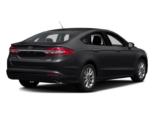 Shadow Black 2018 Ford Fusion Pictures Fusion SE FWD photos rear view
