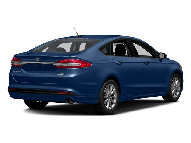 Lightning Blue 2018 Ford Fusion Pictures Fusion SE FWD photos rear view
