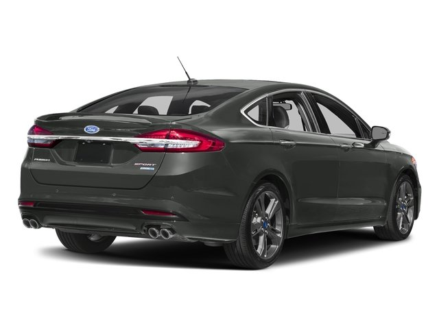 Magnetic Metallic 2018 Ford Fusion Pictures Fusion Sport AWD photos rear view