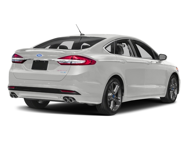 Oxford White 2018 Ford Fusion Pictures Fusion Sport AWD photos rear view