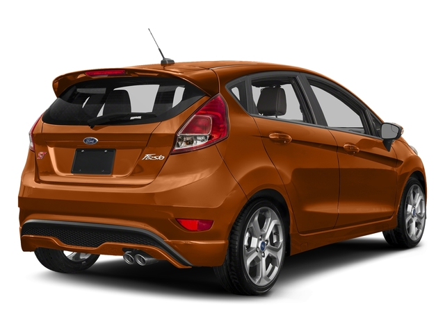 Orange Spice Metallic Tri-Coat 2018 Ford Fiesta Pictures Fiesta ST Hatch photos rear view