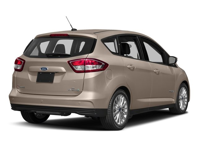 White Gold Metallic 2018 Ford C-Max Hybrid Pictures C-Max Hybrid SE FWD photos rear view