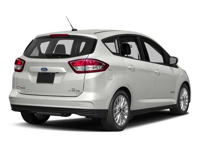 Oxford White 2018 Ford C-Max Hybrid Pictures C-Max Hybrid SE FWD photos rear view
