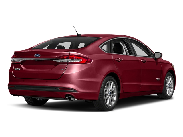 Ruby Red Metallic Tinted Clearcoat 2018 Ford Fusion Energi Pictures Fusion Energi Sedan 4D SE Energi I4 Hybrid photos rear view