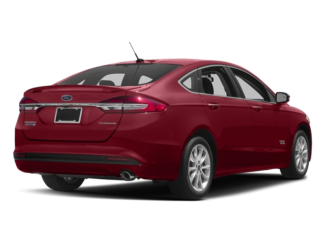 Ruby Red Metallic Tinted Clearcoat 2018 Ford Fusion Energi Pictures Fusion Energi Titanium FWD photos rear view