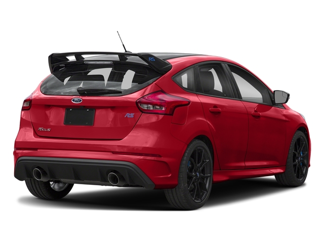 Race Red 2018 Ford Focus Pictures Focus Hatchback 5D RS AWD I4 Turbo photos rear view