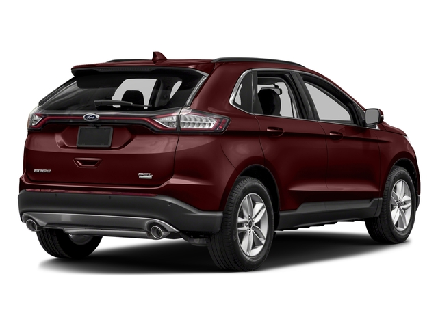 Burgundy Velvet Metallic Tinted Clearcoat 2018 Ford Edge Pictures Edge Utility 4D SEL AWD I4 Turbo photos rear view