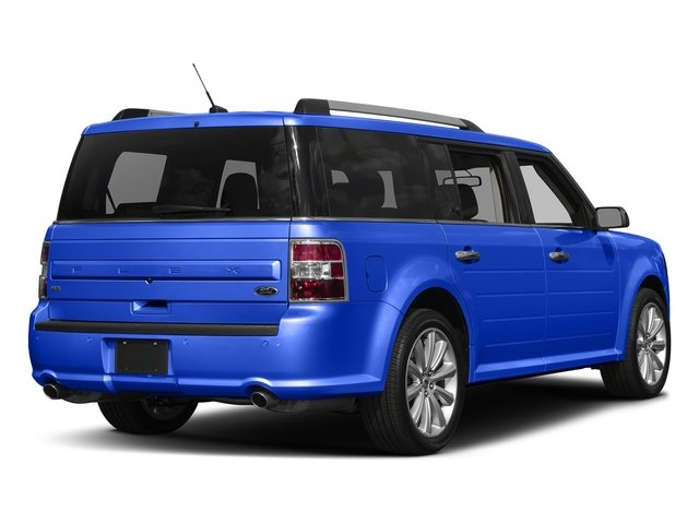 Blue Metallic 2018 Ford Flex Pictures Flex SE FWD photos rear view
