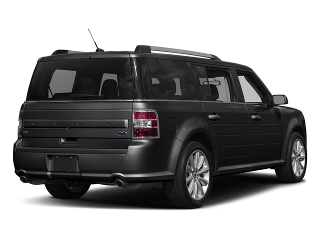 Shadow Black 2018 Ford Flex Pictures Flex SE FWD photos rear view