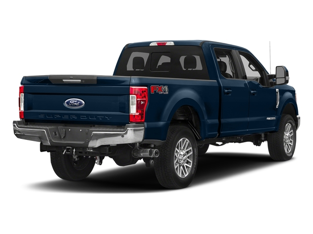 Blue Jeans Metallic 2018 Ford Super Duty F-350 SRW Pictures Super Duty F-350 SRW LARIAT 4WD Crew Cab 8' Box photos rear view