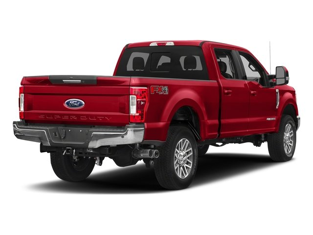Race Red 2018 Ford Super Duty F-350 SRW Pictures Super Duty F-350 SRW LARIAT 4WD Crew Cab 8' Box photos rear view