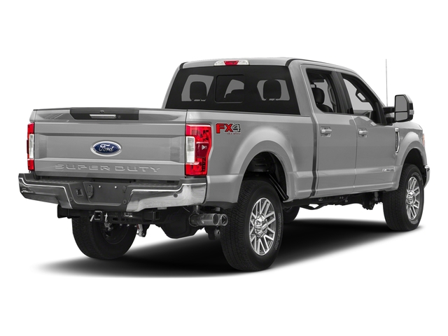 Ingot Silver Metallic 2018 Ford Super Duty F-350 SRW Pictures Super Duty F-350 SRW LARIAT 4WD Crew Cab 8' Box photos rear view