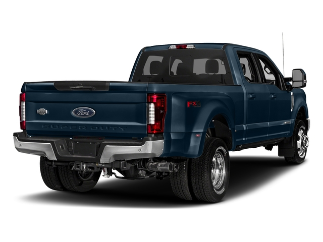 Blue Jeans Metallic 2018 Ford Super Duty F-350 DRW Pictures Super Duty F-350 DRW Crew Cab King Ranch 2WD photos rear view