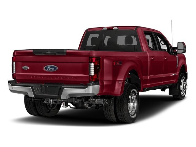 Ruby Red Metallic Tinted Clearcoat 2018 Ford Super Duty F-350 DRW Pictures Super Duty F-350 DRW Crew Cab King Ranch 2WD photos rear view