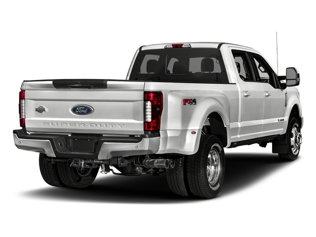 Oxford White 2018 Ford Super Duty F-350 DRW Pictures Super Duty F-350 DRW Crew Cab King Ranch 2WD photos rear view