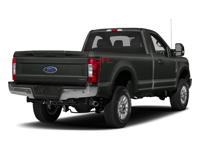Magnetic Metallic 2018 Ford Super Duty F-250 SRW Pictures Super Duty F-250 SRW XLT 2WD Reg Cab 8' Box photos rear view