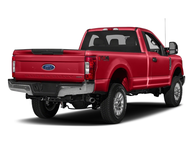 Race Red 2018 Ford Super Duty F-250 SRW Pictures Super Duty F-250 SRW XLT 2WD Reg Cab 8' Box photos rear view