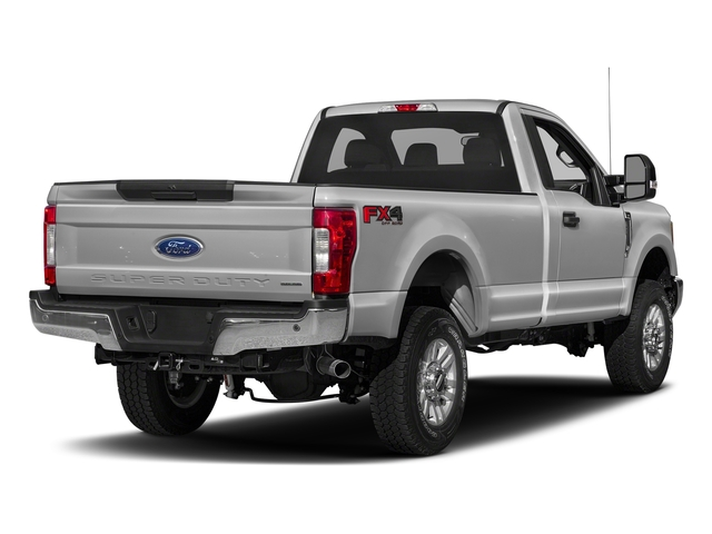 Ingot Silver Metallic 2018 Ford Super Duty F-250 SRW Pictures Super Duty F-250 SRW XLT 2WD Reg Cab 8' Box photos rear view