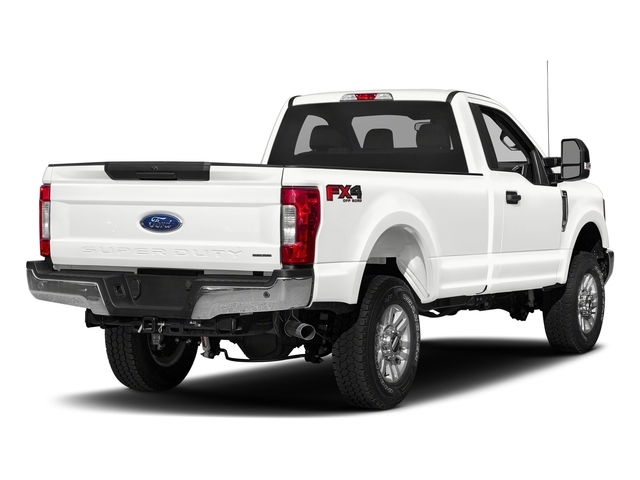 Oxford White 2018 Ford Super Duty F-250 SRW Pictures Super Duty F-250 SRW XLT 2WD Reg Cab 8' Box photos rear view