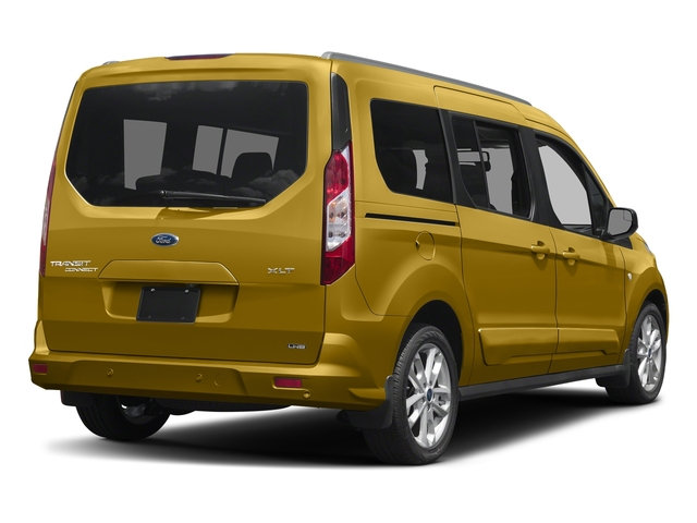 Solar Metallic 2018 Ford Transit Connect Wagon Pictures Transit Connect Wagon XLT SWB w/Rear Symmetrical Doors photos rear view