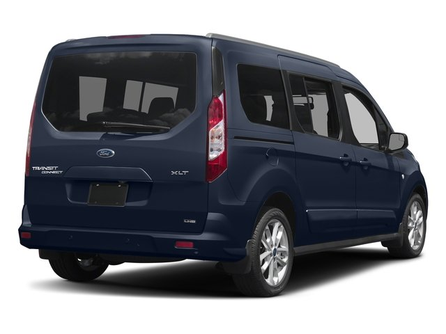 Dark Blue 2018 Ford Transit Connect Wagon Pictures Transit Connect Wagon XLT SWB w/Rear Symmetrical Doors photos rear view